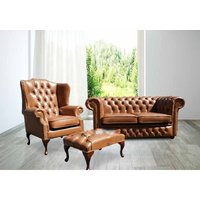 Buy leather sofa suite|Brown Leather Chesterfield Furniture|DesignerSofas4U - DESIGNER SOFAS 4 U