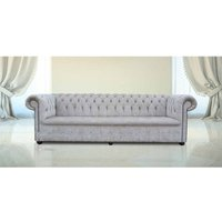 Buy mink fabric Chesterfield sofa UK with Crystals | DesignerSofas4U - DESIGNER SOFAS 4 U