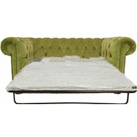 Buy sage green Chesterfield sofa bed at DesignerSofas4U - DESIGNER SOFAS 4 U
