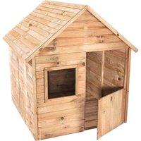 Cabane en bois traité avec plancher et portillon pour enfant - Marina - SOULET