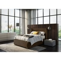 Cairo Brown Malia Double Bed Frame