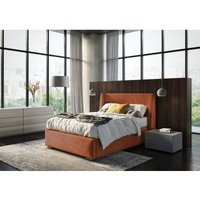 Cairo Burnt Orange Malia Single Bed Frame