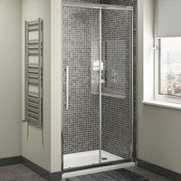 Cass Eight Sliding Shower Door - 1100mm Wide - 8mm Glass - Cali