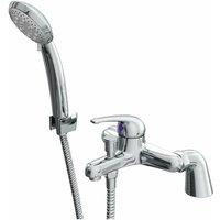 Rio Bath Shower Mixer Tap - Deck Mounted - Chrome - Cali