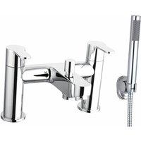 Roma Bath Shower Mixer Tap - Deck Mounted - Chrome - Cali
