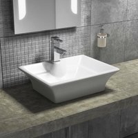 Vessel Counter Top Basin 490mm Wide - 1 Tap Hole - Cali