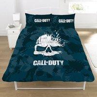 Call Of Duty Broken Skull Reversible Duvet Set (Double) (Blue/Black/White)