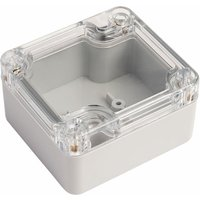 CamdenBoss 7200-201C Polycarbonate Case Clear Lid 64 x 58 x 35mm 7200 Series