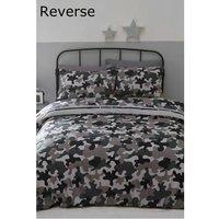 Camouflage Single Duvet Cover Set Reversable Bedding Bed Set