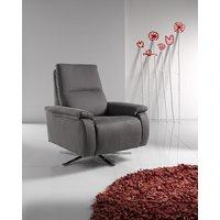 Designer Sofas 4 U - Candy Leather Reclining Revolving Designer Chair