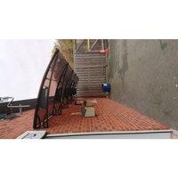 CANOFIX Door Canopy PC 6000W x 1500P / DIY Polycarbonate Cantilever Awning/Window Door Pathway Walkway Garden Shed Porch Patio (Black Bracket