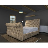 Canterbury Mink Alaska Double Bed Frame