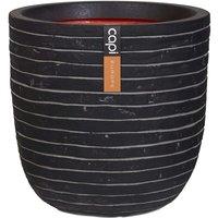 Egg Planter Nature Row 54x52 cm Anthracite KRWZ935 - Black - Capi