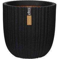 Capi Egg Planter Urban Tube 54x52 cm Black KBLT935 - Black