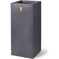 Planter Urban Smooth Rectangle 36x79 cm Dark Grey - Grey - Capi