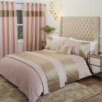 Rapport - Capri Blush 30x50cm Boudoir Filled Cushion Bed/Sofa Accessory Velvet