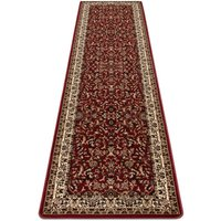 Carpet, Runner ROYAL ADR design 1745 claret - for the corridor and hallway Shades of red 80x250 cm