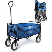Carrello da trasporto pieghevole con ruote in plastica e maniglia anche per percorsi offroad - WILTEC