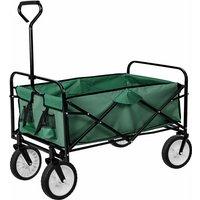 Tectake - Carrello portapacchi pieghevole - carrello pieghevole - verde - grün