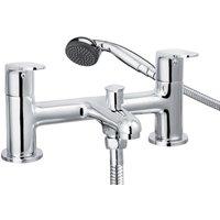 Cascade Spiral Bath Shower Mixer Tap 001.21913.3