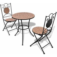 Casey 2 Seater Bistro Set by Dakota Fields - Brown