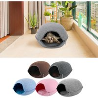Cat Pet Cave Bed for Cats Kittens Pets - ASUPERMALL