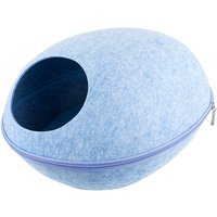 Cat Pet Cave Cat Cave Bed Cat Bed for Cats Kittens Pets Blue - ASUPERMALL