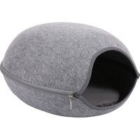 Cat Pet Cave Cat Cave Bed Cat Bed for Cats Kittens Pets CLY016 Grey - ASUPERMALL