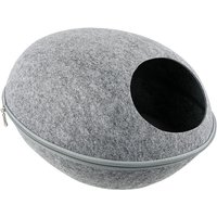 Cat Pet Cave Cat Cave Bed Cat Bed for Cats Kittens Pets light grey - ASUPERMALL