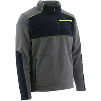 Mens Argo Quarter Zip Fleece Jacket (XL) (Dark Shadow) - Caterpillar