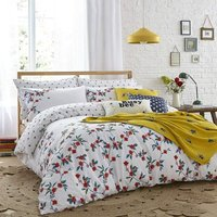 Cath Kidston Greenwich Flowers Multi King Size Duvet Cover Set Bedding