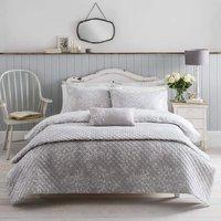 Washed Rose Grey Floral Duvet Cover Set King Duvet Cover - Cath Kidston