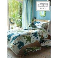 Bianca - Catherine Lansfield Dinosaur Single Duvet Cover Set