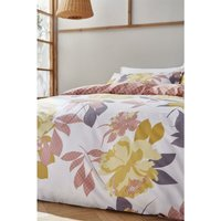 Catherine Lansfield Duvet Set, Polyester, Blush Pink, Double - BIANCA