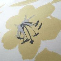 Lily Ochre Single Duvet Cover Set Reversible Bedding Quilt - Catherine Lansfield