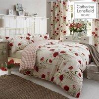 Bianca - Catherine Lansfield Wild Poppies Double Duvet Set
