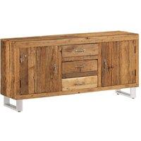 Cathleen Solid Reclaimed Sleeper Wood Sideboard by Bloomsbury Market - Brown