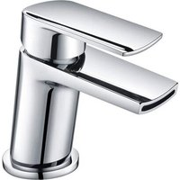 Centa Bathroom Waterfall Single Lever Deck Mounted Basin Mixer Tap - NESHOME