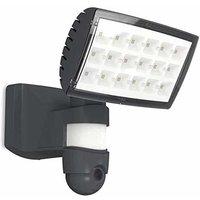 Cgc Lighting - CGC Intelligent Smart Home Camera and Slim Floodlight Wall Flood Light Dark Grey 25W LED IP44 Outdoor Garden Patio Porch Door with APP
