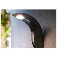 CGC Slim Grey Outdoor 18W LED Wall Light in 4000k Natural White IP54 Ideal for Garden Patio Driveway Pathway - CGC LIGHTING