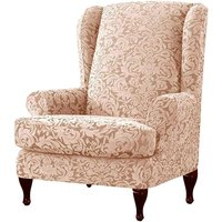 Chair cover Armchair Stretch Wing Protector Furniture Cover B