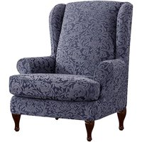 Chair cover Armchair Stretch Wing Protector Furniture Cover A Hasaki