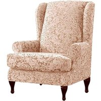 Chair cover Armchair Stretch Wing Protector Furniture Cover B Hasaki