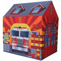 Charles Bentley Fire Station/Firefighter Play Tent/Wendy House/Garden Playhouse/Den