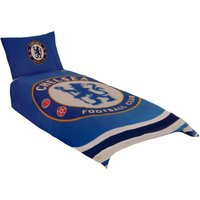 Pulse Single Duvet Set (One Size) (Blue) - Chelsea Fc