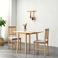 Cherry Tree Furniture Malden Solid Wood Extending Dining Tab