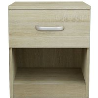 Chest Of Drawers 1 Drawer Bedside Cabinet 45*35*47cm Wood