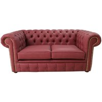 Chesterfield 2 Seater Infinity Salsa Faux Leather Sofa Offer