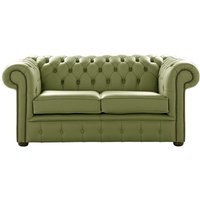 Designer Sofas 4 U - Chesterfield 2 Seater Shelly Mountain Tree Leather Sofa Settee