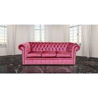 Chesterfield 3 Seater Settee Boutique Rose Velvet Sofa Offer